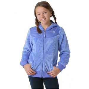 THE NORTH FACE OSO FLEECE HOODIE GIRLS'